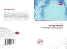 Bookcover of Energy in India