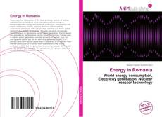 Bookcover of Energy in Romania