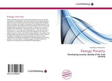 Bookcover of Energy Poverty