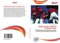 Обложка 2009 Ole Miss Rebels Football Team