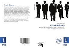 Bookcover of Frank Maloney