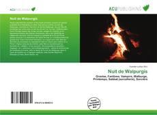 Capa do livro de Nuit de Walpurgis