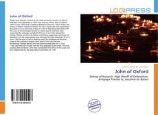 Обложка John of Oxford