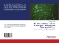 Buchcover von Dr. Prof. Tambara Federico E-book and Corresponding Paper-printed Book