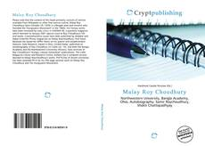 Bookcover of Malay Roy Choudhury