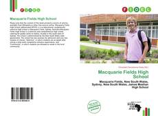 Bookcover of Macquarie Fields High School
