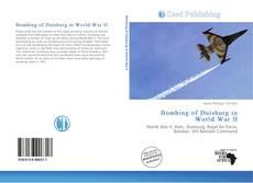 Bookcover of Bombing of Duisburg in World War II
