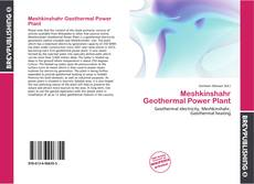 Bookcover of Meshkinshahr Geothermal Power Plant