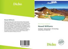 Bookcover of Howel Williams