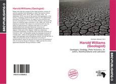 Harold Williams (Geologist) kitap kapağı