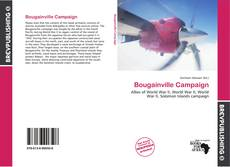 Buchcover von Bougainville Campaign