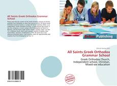 All Saints Greek Orthodox Grammar School的封面