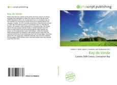 Buchcover von Bay de Verde
