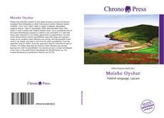 Bookcover of Moishe Oysher