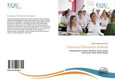 Couverture de Carinya Christian School