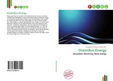 Bookcover of GreenSun Energy