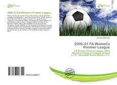 Copertina di 2000–01 FA Women's Premier League