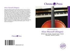 Copertina di Alice Russell (Singer)