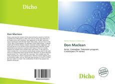 Couverture de Don Maclean