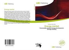 Bookcover of Energy market