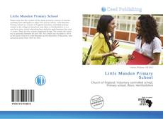 Portada del libro de Little Munden Primary School