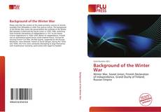 Bookcover of Background of the Winter War