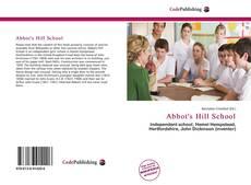 Borítókép a  Abbot's Hill School - hoz