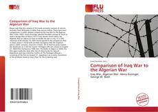 Portada del libro de Comparison of Iraq War to the Algerian War