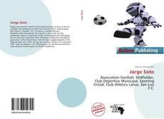 Portada del libro de Jorge Soto