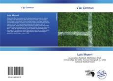 Portada del libro de Luis Musrri