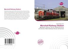 Bookcover of Marshall Railway Station