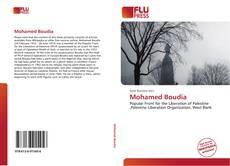Mohamed Boudia kitap kapağı