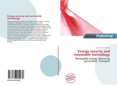 Bookcover of Energy security and renewable technology