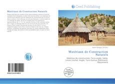 Capa do livro de Matériaux de Construction Naturels