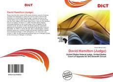 Bookcover of David Hamilton (Judge)