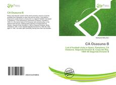 Bookcover of CA Osasuna B