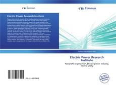 Borítókép a  Electric Power Research Institute - hoz