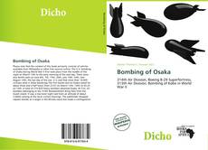 Bookcover of Bombing of Osaka