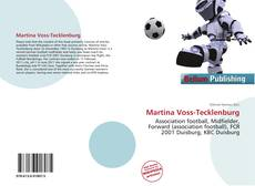 Bookcover of Martina Voss-Tecklenburg