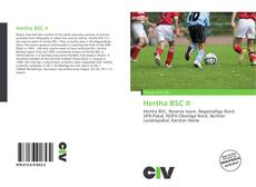 Bookcover of Hertha BSC II