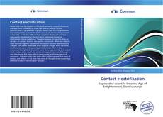 Bookcover of Contact electrification