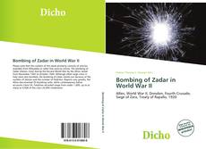 Buchcover von Bombing of Zadar in World War II