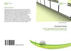 Couverture de Carole Cook