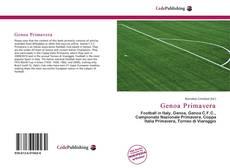 Обложка Genoa Primavera