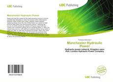 Bookcover of Manchester Hydraulic Power