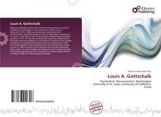 Louis A. Gottschalk kitap kapağı