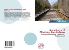 Capa do livro de Grand Duchy of Oldenburg State Railways
