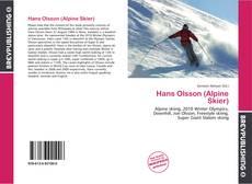 Bookcover of Hans Olsson (Alpine Skier)