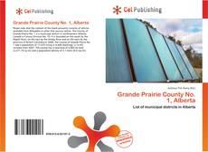 Bookcover of Grande Prairie County No. 1, Alberta
