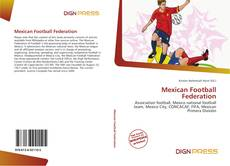 Capa do livro de Mexican Football Federation
